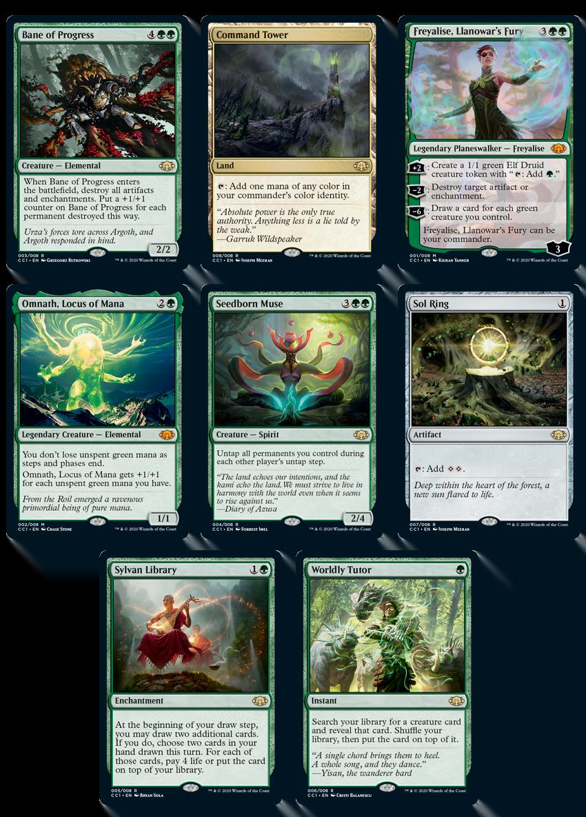 CommanderGreen_Cards